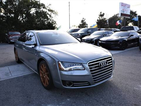 2014 Audi A8 L for sale at Grant Car Concepts in Orlando FL