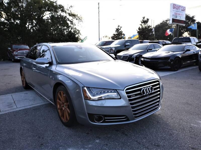 2014 Audi A8 L for sale at Grant Car Concepts in Orlando FL