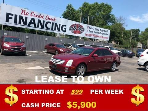 2005 Cadillac DTS for sale at Auto Mart USA in Kansas City MO