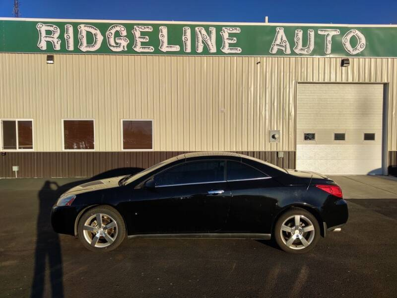 2007 Pontiac G6 for sale at RIDGELINE AUTO in Chubbuck ID