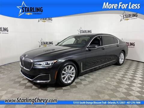 2020 BMW 7 Series for sale at Pedro @ Starling Chevrolet in Orlando FL