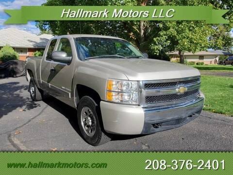 2007 Chevrolet Silverado 1500 for sale at HALLMARK MOTORS LLC in Boise ID