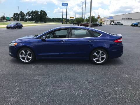 2013 Ford Fusion for sale at SELECT AUTO SALES in Mobile AL