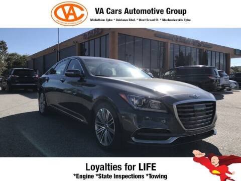 2018 Genesis G80 for sale at VA Cars Inc in Richmond VA