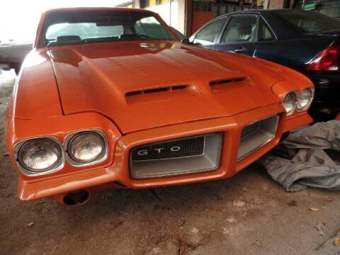 1972 Pontiac GTO for sale at SARCO ENTERPRISE inc in Houston TX