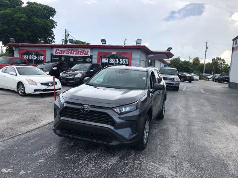 2019 Toyota RAV4 for sale at CARSTRADA in Hollywood FL