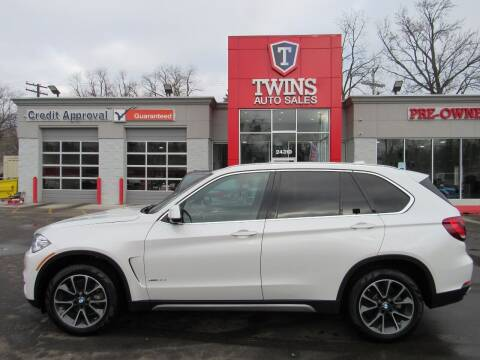 2018 BMW X5 for sale at Twins Auto Sales Inc in Detroit MI