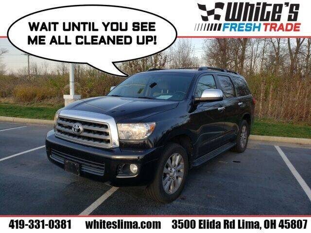 2014 Toyota Sequoia for sale at White's Honda Toyota of Lima in Lima OH