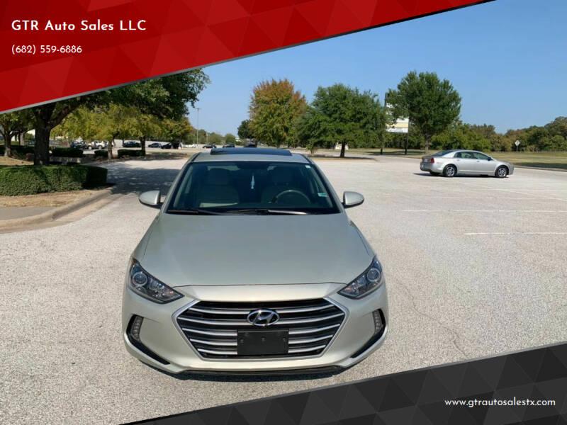 2017 Hyundai Elantra for sale at GTR Auto Sales LLC in Haltom City TX