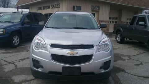 2013 Chevrolet Equinox for sale at Long Motor Sales in Tecumseh MI