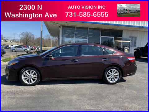 2015 Toyota Avalon for sale at Auto Vision Inc. in Brownsville TN