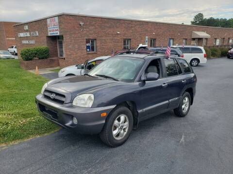 2006 Hyundai Santa Fe for sale at ARA Auto Sales in Winston-Salem NC