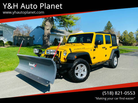 2011 Jeep Wrangler Unlimited for sale at Y&H Auto Planet in West Sand Lake NY