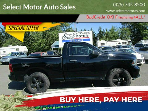 2014 RAM Ram Pickup 1500 for sale at Select Motor Auto Sales in Lynnwood WA