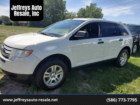 2009 Ford Edge for sale at Jeffreys Auto Resale, Inc in Clinton Township MI