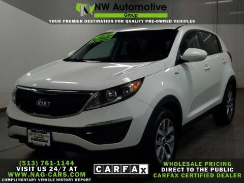 2016 Kia Sportage for sale at NW Automotive Group in Cincinnati OH