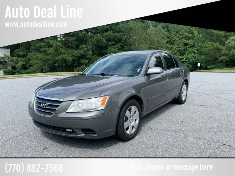 2009 Hyundai Sonata for sale at Auto Deal Line in Alpharetta GA