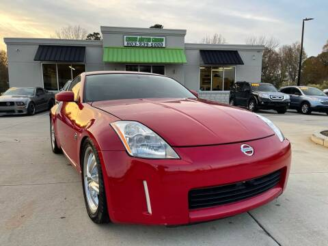 2003 Nissan 350Z for sale at Cross Motor Group in Rock Hill SC