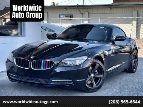 2009 BMW Z4 for sale at Worldwide Auto Group in Auburn WA