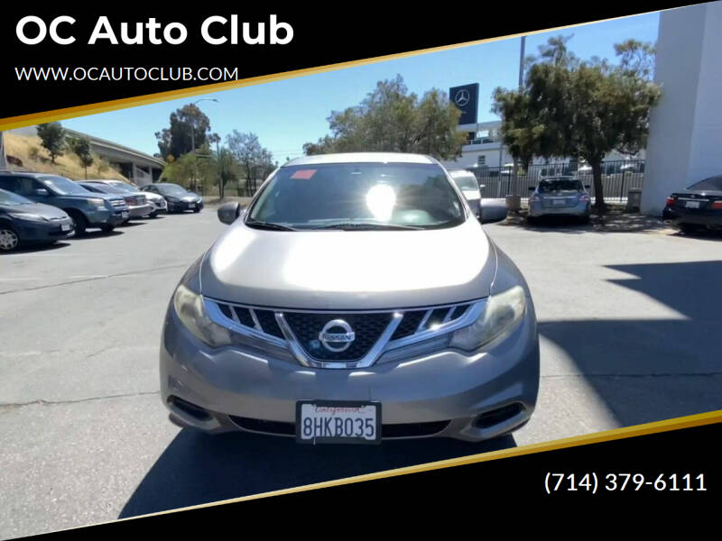 2012 Nissan Murano for sale at OC Auto Club in Midway City CA