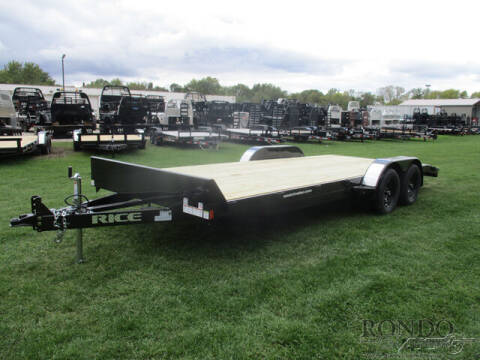 2021 Rice Trailers Car Hauler FMCR8220 for sale at Rondo Truck & Trailer in Sycamore IL
