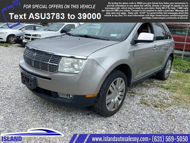2008 Lincoln MKX for sale at Island Auto Sales in East Patchogue NY