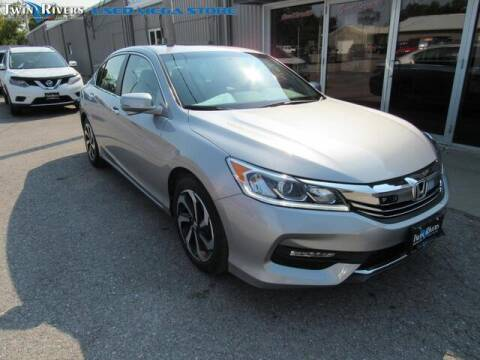 2017 Honda Accord for sale at TWIN RIVERS CHRYSLER JEEP DODGE RAM in Beatrice NE