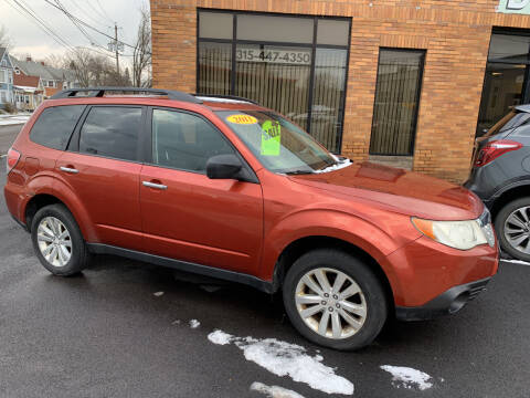 2011 Subaru Forester for sale at Dominic Sales LTD in Syracuse NY