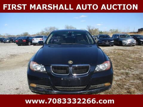 2007 BMW 3 Series for sale at First Marshall Auto Auction in Harvey IL