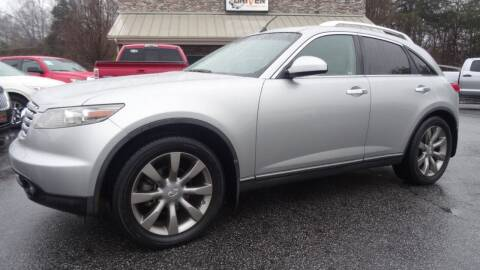 2004 Infiniti FX35 for sale at Driven Pre-Owned in Lenoir NC