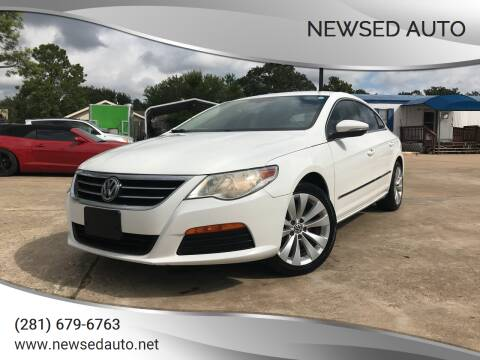 2012 Volkswagen CC for sale at Newsed Auto in Houston TX