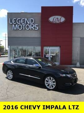 2016 Chevrolet Impala for sale at Legend Motors of Waterford - Legend Motors of Ferndale in Ferndale MI