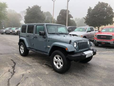 2014 Jeep Wrangler Unlimited for sale at WILLIAMS AUTO SALES in Green Bay WI