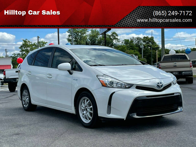 2015 Toyota Prius v for sale at Hilltop Car Sales in Knoxville TN