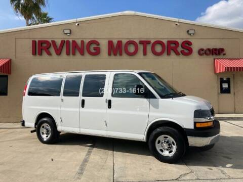 2019 Chevrolet Express Passenger for sale at Irving Motors Corp in San Antonio TX