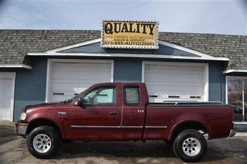 1997 Ford F-150 for sale at Quality Pre-Owned Automotive in Cuba MO