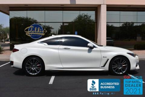 2017 Infiniti Q60 for sale at GOLDIES MOTORS in Phoenix AZ