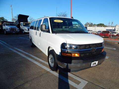 2018 Chevrolet Express Passenger for sale at Vail Automotive in Norfolk VA