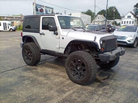 2010 Jeep Wrangler for sale at Smart Buy Auto in Bradley IL