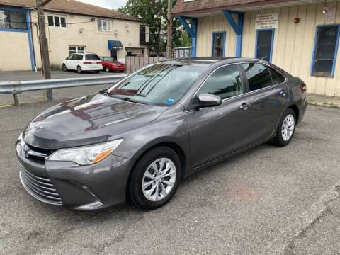 2016 Toyota Camry Hybrid for sale at QUALITY AUTOS in Hamburg NJ