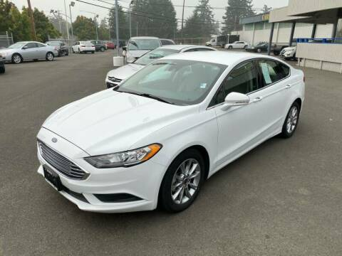 2017 Ford Fusion for sale at TacomaAutoLoans.com in Tacoma WA