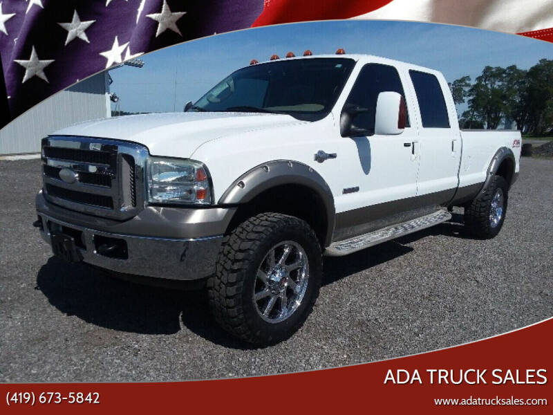 2005 Ford F-350 Super Duty for sale at Ada Truck Sales in Ada OH