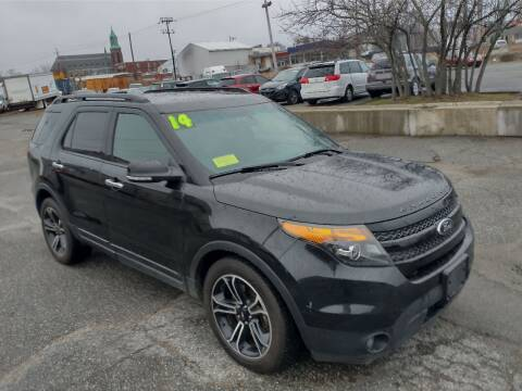 2014 Ford Explorer for sale at Merrimack Motors in Lawrence MA
