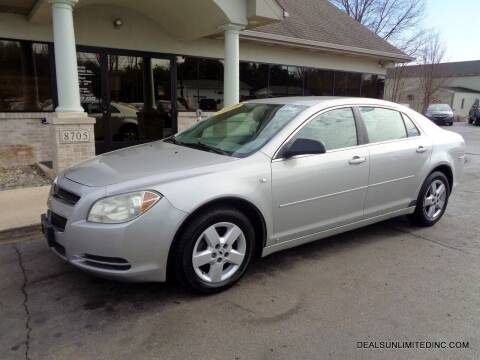 2008 Chevrolet Malibu for sale at DEALS UNLIMITED INC in Portage MI