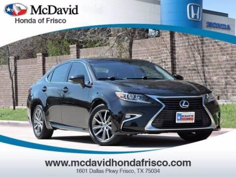 2016 Lexus ES 300h for sale at DAVID McDAVID HONDA OF IRVING in Irving TX
