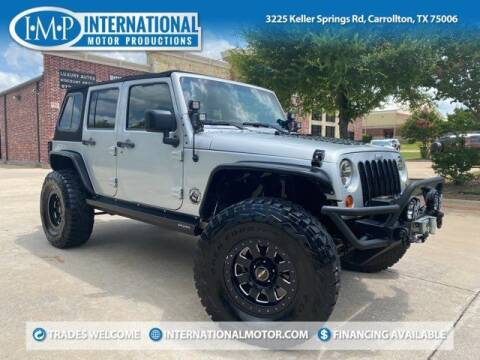 2011 Jeep Wrangler Unlimited for sale at International Motor Productions in Carrollton TX