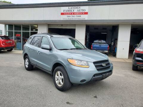 2008 Hyundai Santa Fe for sale at Landes Family Auto Sales in Attleboro MA