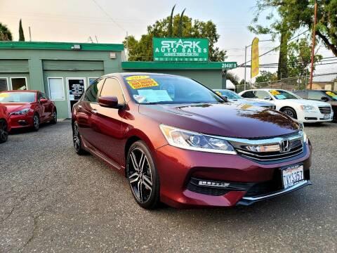 2017 Honda Accord for sale at Stark Auto Sales in Modesto CA