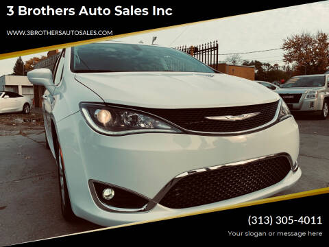 2020 Chrysler Pacifica for sale at 3 Brothers Auto Sales Inc in Detroit MI