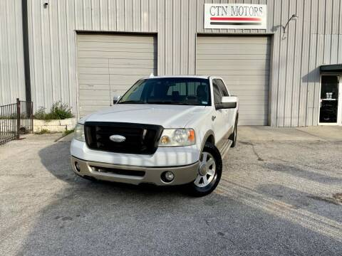 2008 Ford F-150 for sale at CTN MOTORS in Houston TX